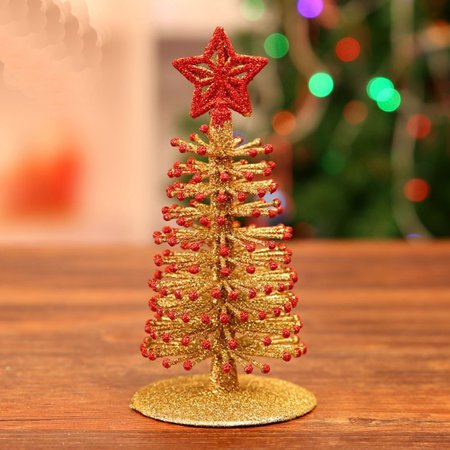 Artificial Tabletop Mini Christmas Tree Decorations Festival Miniature Xmas Tree - Walmart.com