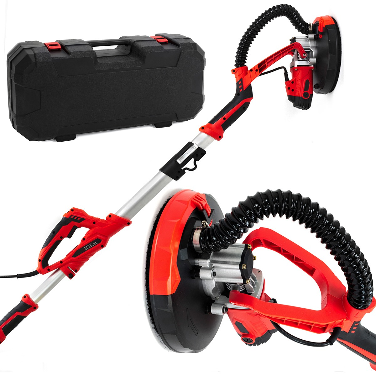 750W Adjustable Drywall Sander Tool, with Case
