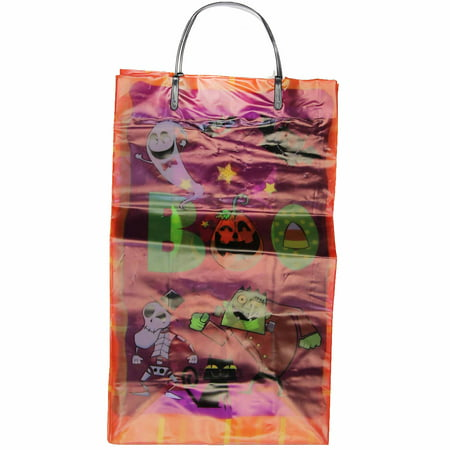 10 Pack Medium Halloween Gift Bag - Boo