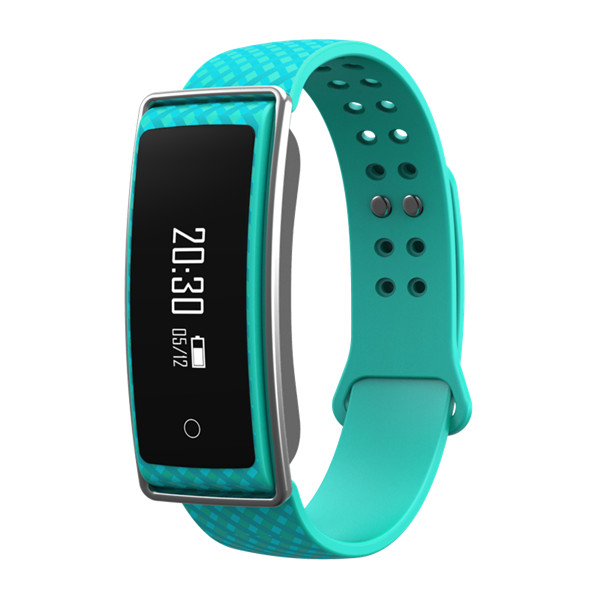 TechComm GX5 Water Resistant Fitness Activity Tracker Heart Rate Monitor
