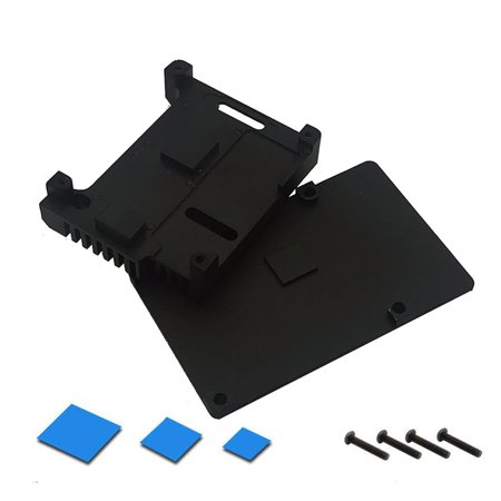 Universal Aluminium Alloy Metal Out Incrustation Radiator Protection Case For Raspberry Pi Dual Cooling (Pc Case Fans Blow In Or Out)