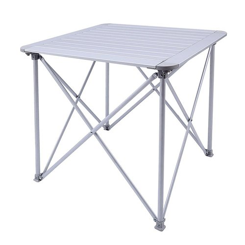 Freeport Park Amedee KingCamp Aluminum Alloy Lightweight Portable Strong Stable Roll Up Folding Camping Table by