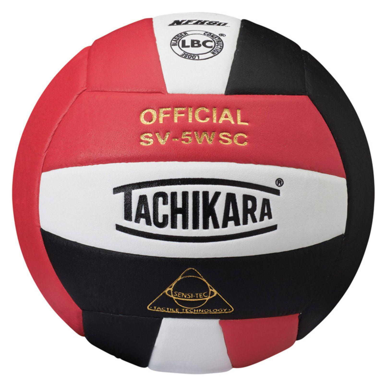 Tachikara SV5WC Red, White and Black Volleyball