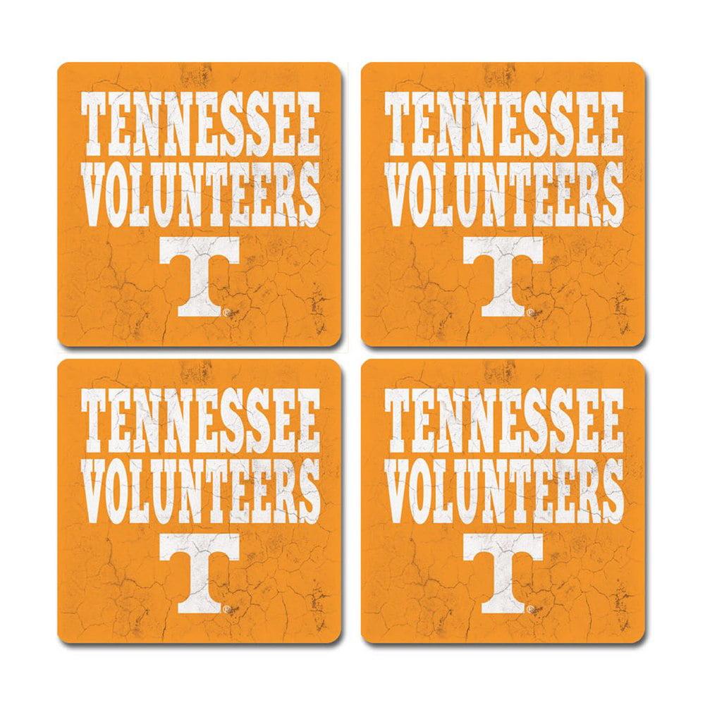 Tennessee Volunteers Thirsty Coasters - 4 Pack