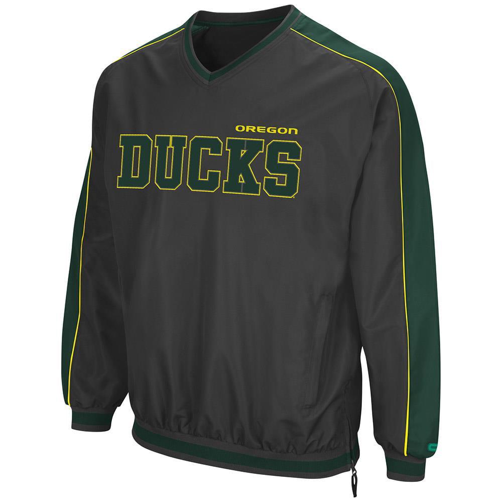Mens Oregon Ducks Attack Line Wind Breaker Jacket by Colosseum