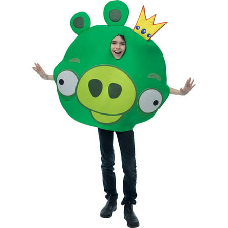 Angry Birds King Pig Child Halloween Costume](Halloween Costume Bird Beak)