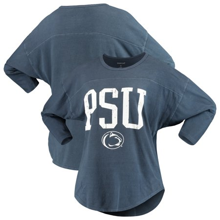 Penn State Nittany Lions Women's Codes Vintage 3/4-Sleeve Striped Jersey T-Shirt -