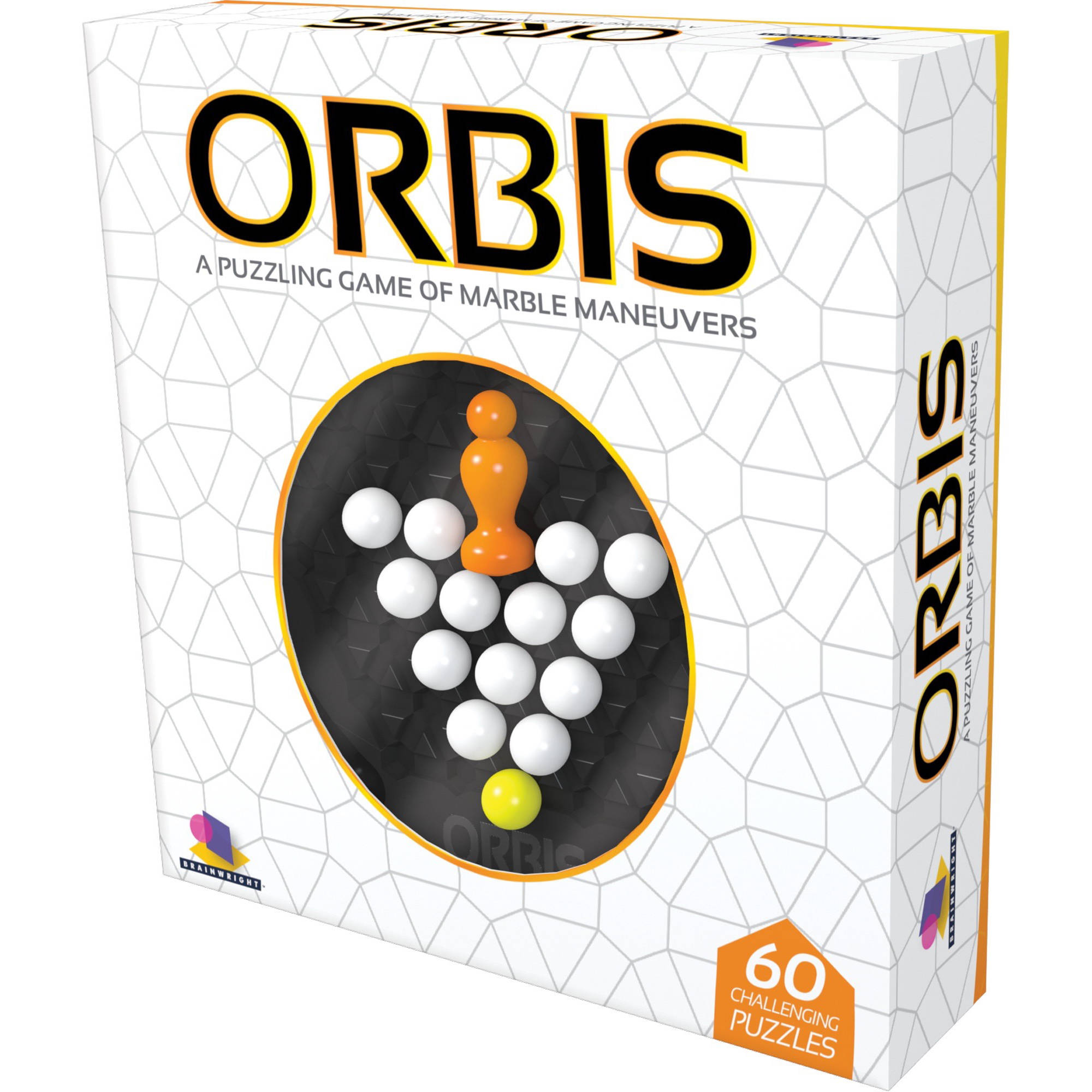 Orbis: A Puzzling Game of Marble Maneuvers