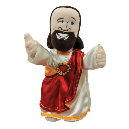 Toys View Askew Buddy Christ Plush Doll, As seen in the films of Kevin Smith By Diamond Select (Jesus Doll)