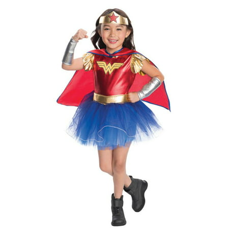 Rubies Deluxe Wonder Woman Toddler Halloween Costume - Wonder Woman Halloween Costume Toddler