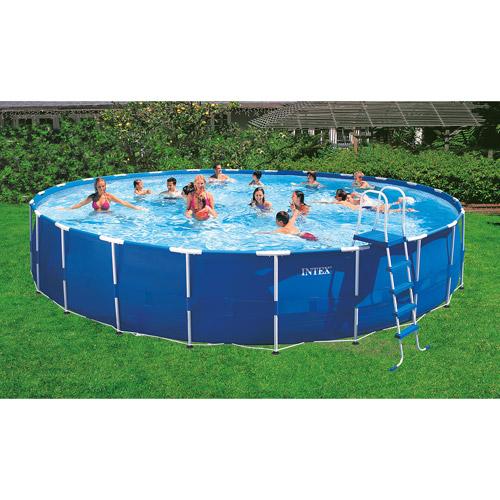 "Intex 24' x 52"" Metal Frame Swimming Pool"
