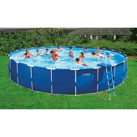 intex 24 x 52 metal frame swimming pool
