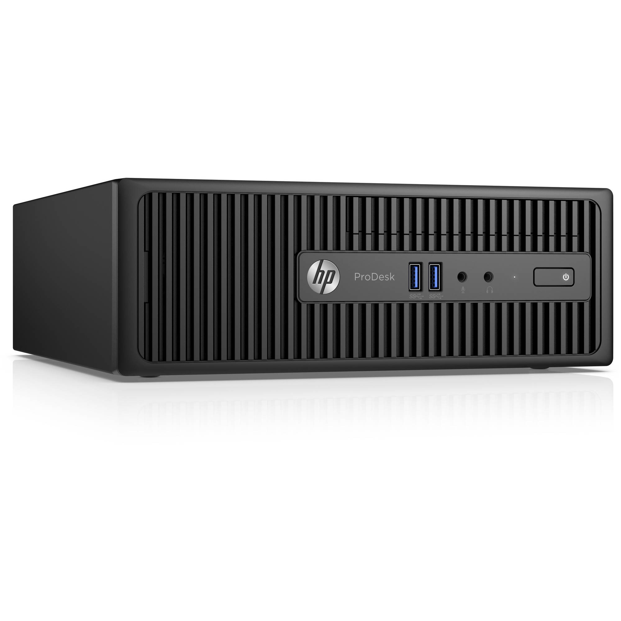 Hp Pro Desk 400 G3 Desktop Pc With Intel Core I 5 - 6500 Processor, 8gb Memory, 1tb Hard Drive And Windows 7 Professional (monitor Not Included)