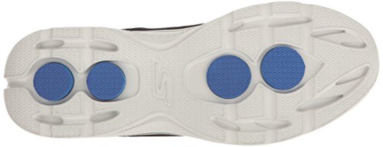 54152 BKBL Black Skechers Shoes Go Walk 4 Men's Sport Mesh Comfort Casual Slipon