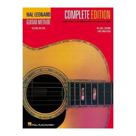 Hal Leonard Guitar Method, - Complete Edition : Book Only