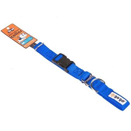 GoGo 15123 Medium 0.75 X 16-21 In. Blue Martingale