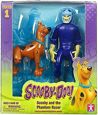 Scooby Doo Series 1 Scooby & Phantom Racer Action Figure 2-Pack by Scooby Doo
