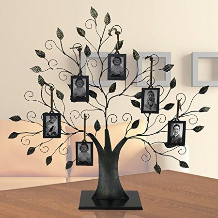 Family Tree With 6 Hanging Photo Frames Walmartcom