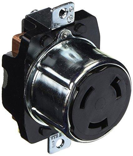 Hubbell HBL3769 Locking Receptacle, 50 amp, 250VDC/600VAC...