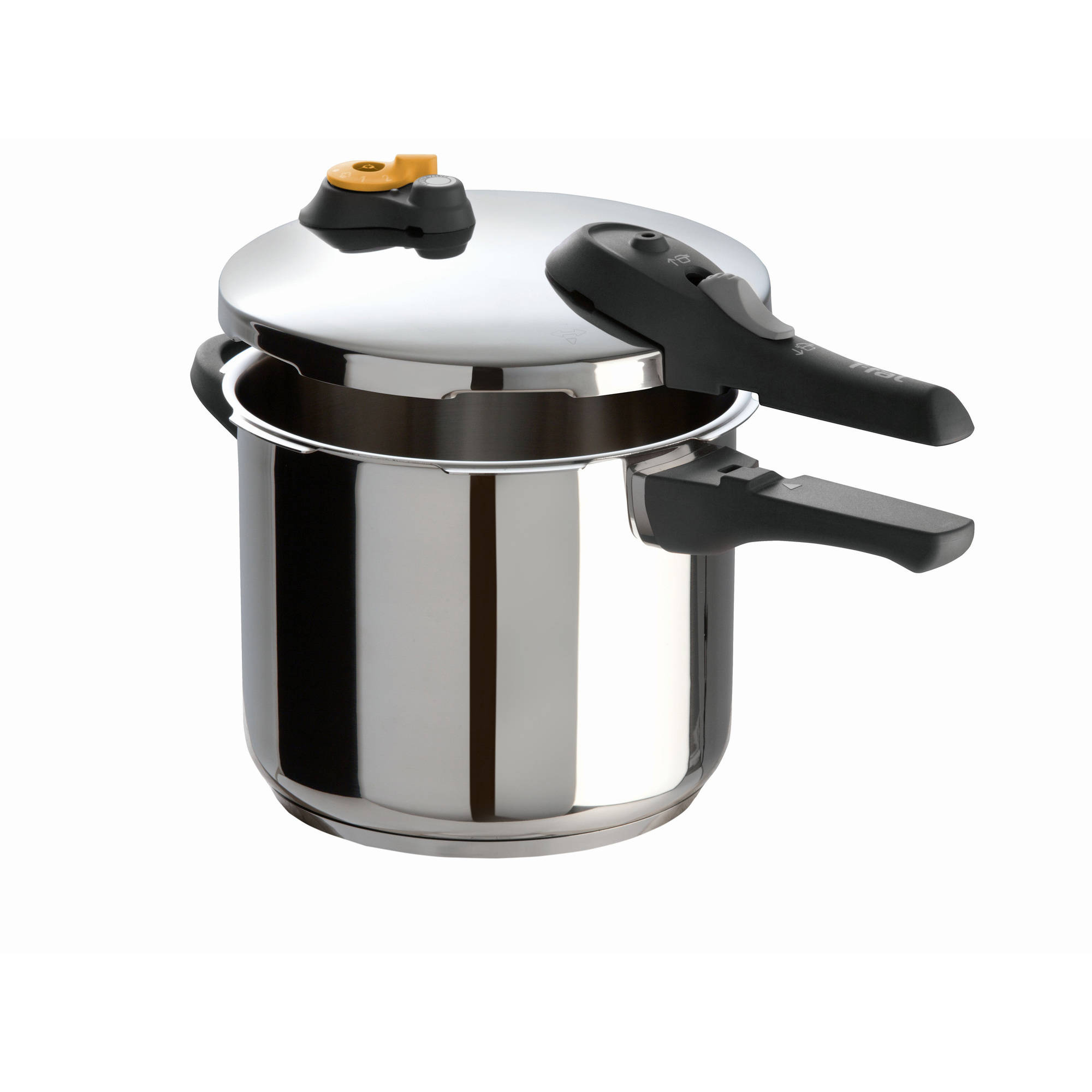 Clipso Stainless Steel 6.3-Quart Pressure Cooker