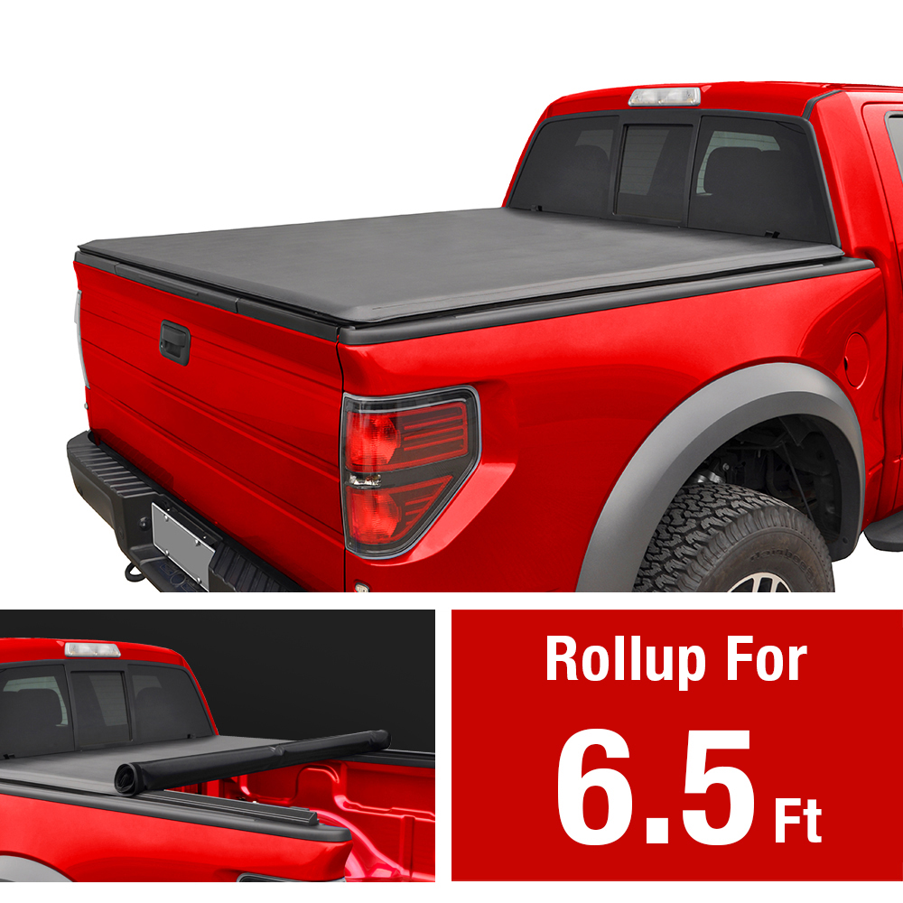 GREY 2016 2017 2018 FORD F-250 F-350 CREW CAB 6.5FT BED BREATHABLE TRUCK COVER