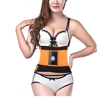 NK SUPPORT Waistband Sports Men and Women Basketball Running Fitness Squat Sprain Protection Warm Belt Tied abdomen Protector ()