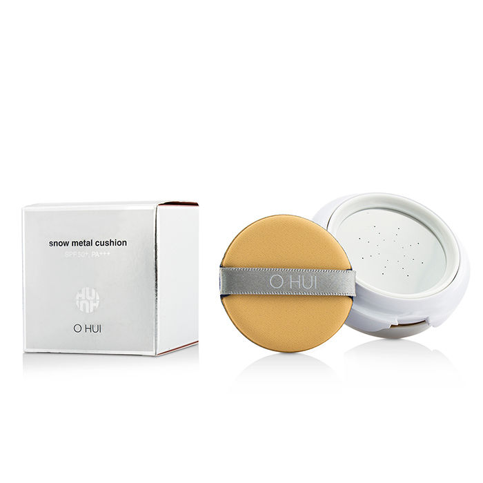 O Hui - Snow Metal Cushion SPF50 #23 Natural Beige - 2x15...