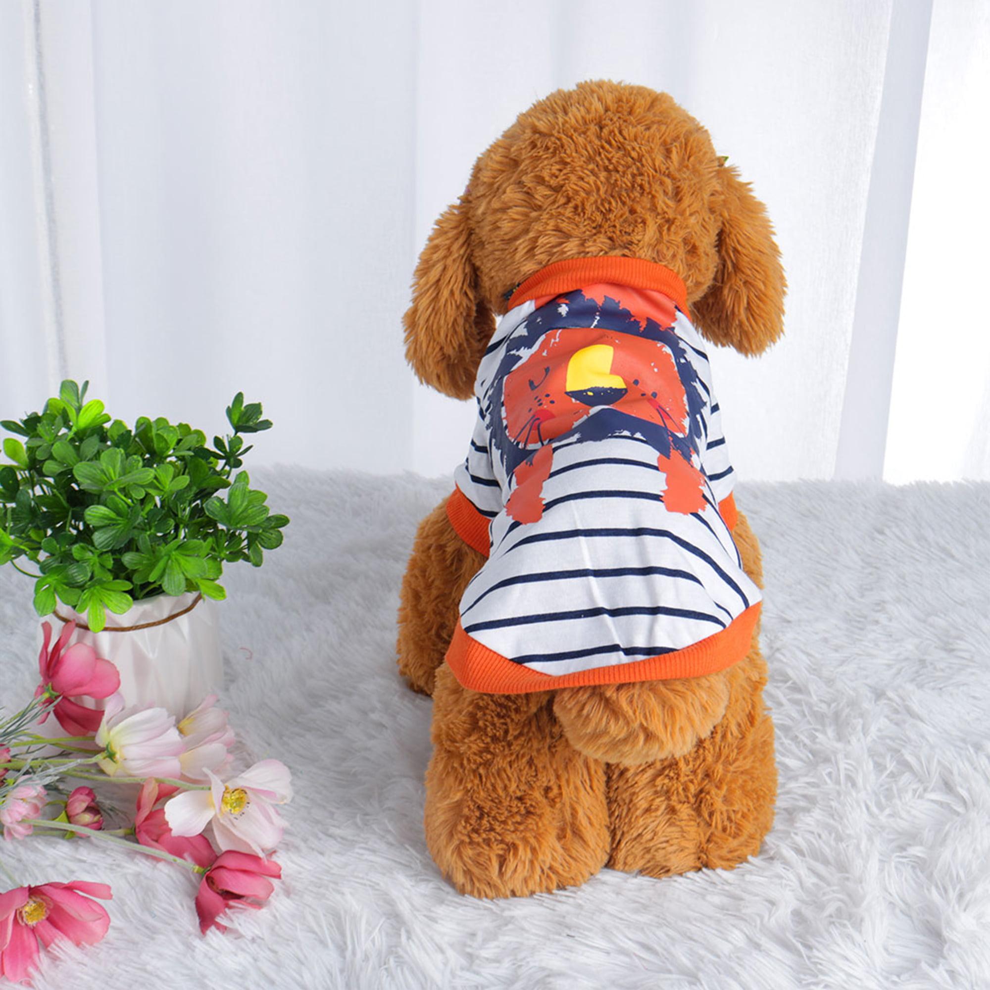 Dog T Shirt Puppy Small Pet Sweatshirt Tops Clothes Apparel Vest Clothing #15 XL - image 7 de 7