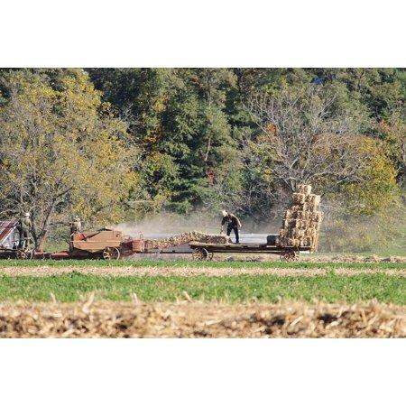 LAMINATED POSTER Farm County Amish Pennsylvania Rural Lancaster Poster Print 24 x