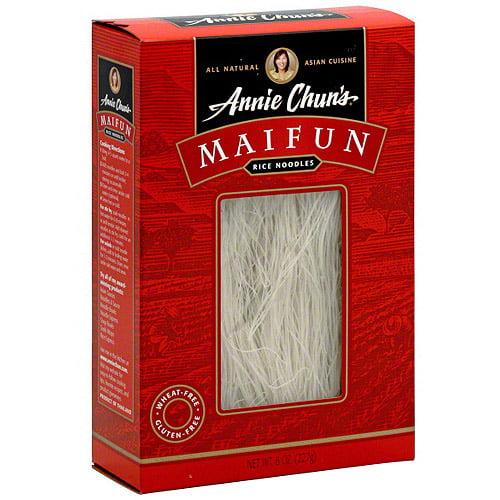 annie chun's mai fun rice noodles 8 oz pack of 6
