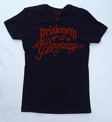Spanish-TS-Prisoner Of Hope-Womens- Small-Black/Red