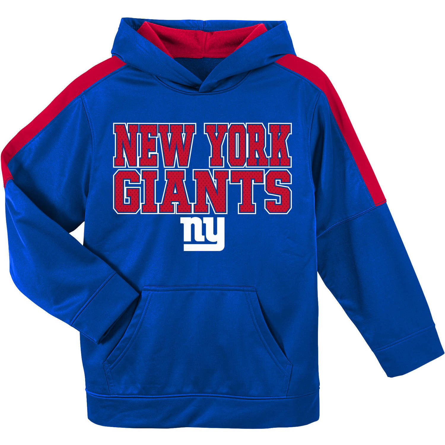 NFL New York Giants Youth Hooded Fleece Top