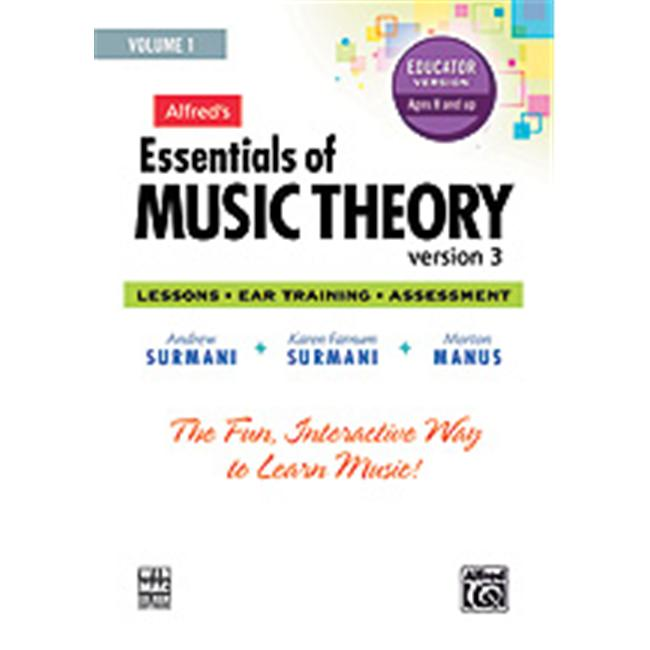 Alfred Publishing 00-34628 Essentials of Music Theory- So...