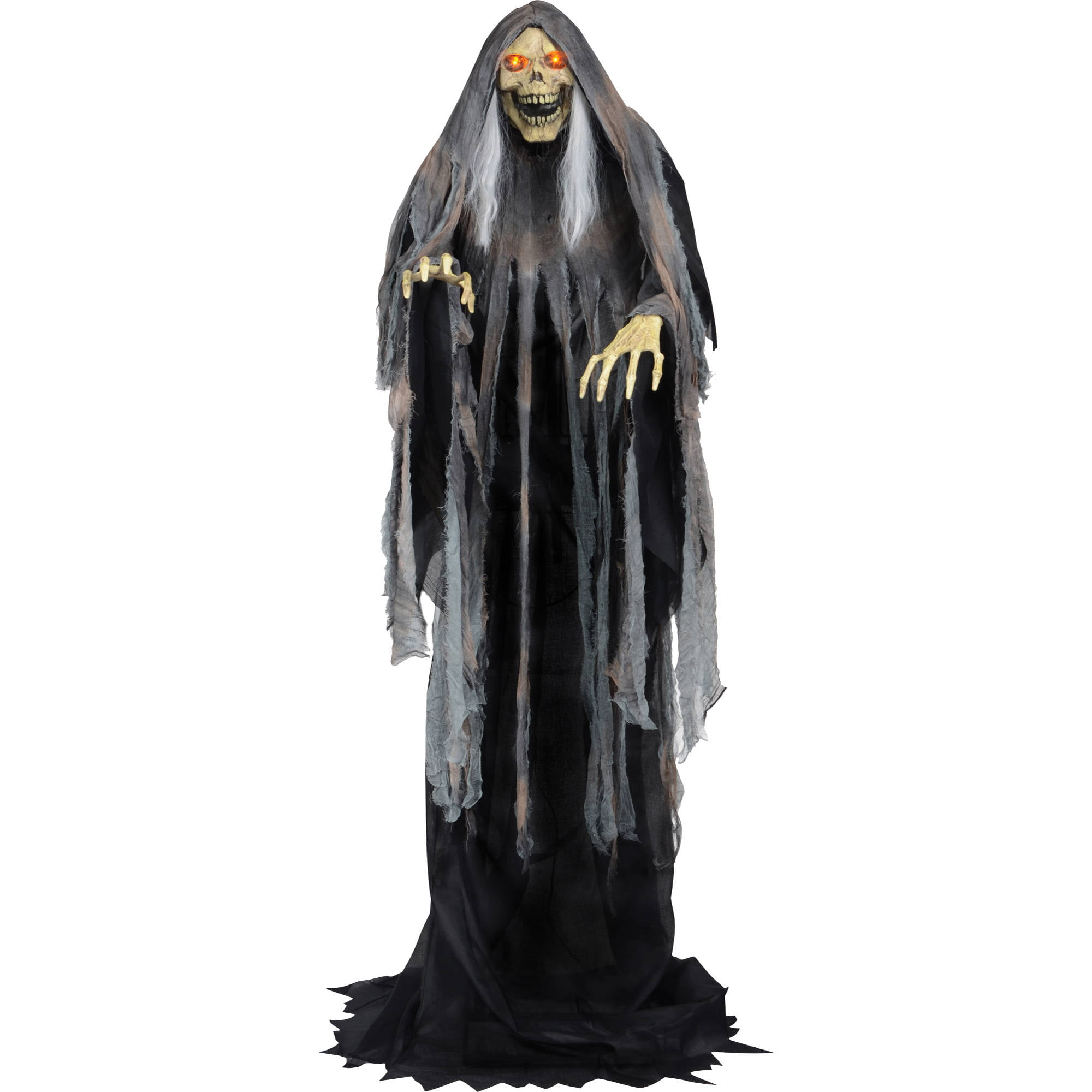 bog reaper rising animated halloween decoration walmartcom - Walmart Halloween Decorations