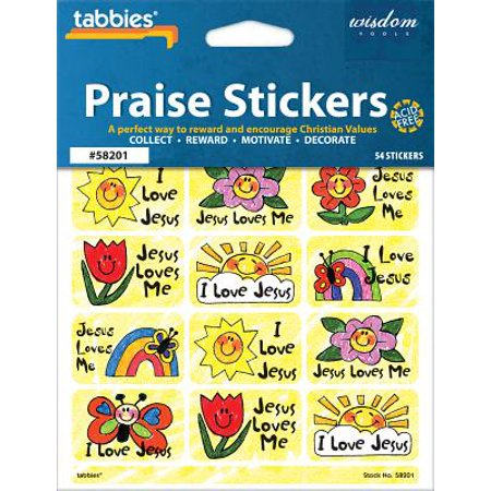 Tabbies Children's Praise Stickers,