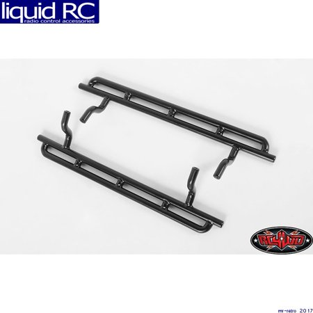 RC 4WD Z-S1916 S1916 Tough Armor Narrow Steel Sliders -Trail Finder 2 LWB