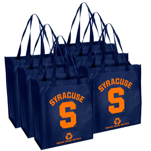 NCAA - Syracuse Orange Reusable Bag 6 Pack