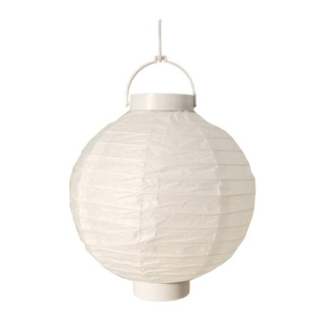 JH Specialties Inc. Battery Operated White Paper Lanterns (Set of 3)](Battery Operated Paper Halloween Lanterns)