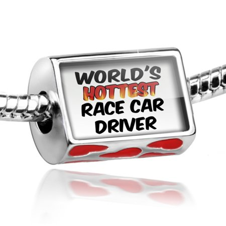 Bead Worlds hottest Race Car Driver Charm Fits All European