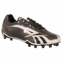 ae60a19fea2 Product Image REEBOK MEN S NFL BURNER SPEED LT LO M4 BLACK WHITE SIL MOLDED  FOOTBALL CLEAT 9 M