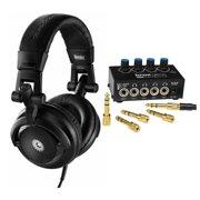 Hercules HDP DJ-M40.1 DJ Headphones with Knox Stereo Headphone Amplifier