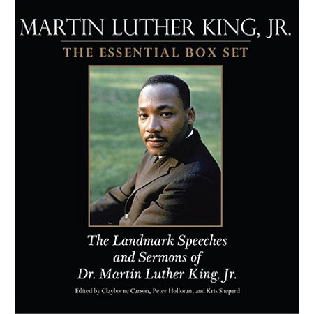 Martin Luther King: The Essential Box Set : The Landmark Speeches and Sermons of Martin Luther King, (Martin Luther King Nobel Peace Prize Speech)