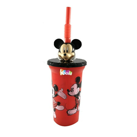 Zak BPA Free 15 oz Buddy Sip Tumbler w/ Lid & Straw Disney Mickey Mouse - Mickey Mouse Straws