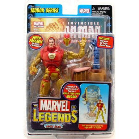 Legends Modok Series Thorbuster Iron Man Action Figure (Modok Figure)