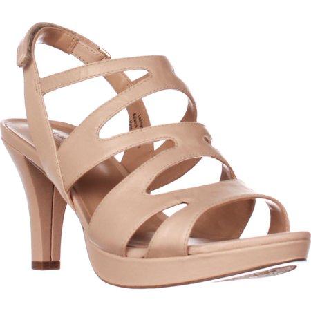 e6efd36ccda4 Womens naturalizer Pressley Platform Strappy Dress Sandals