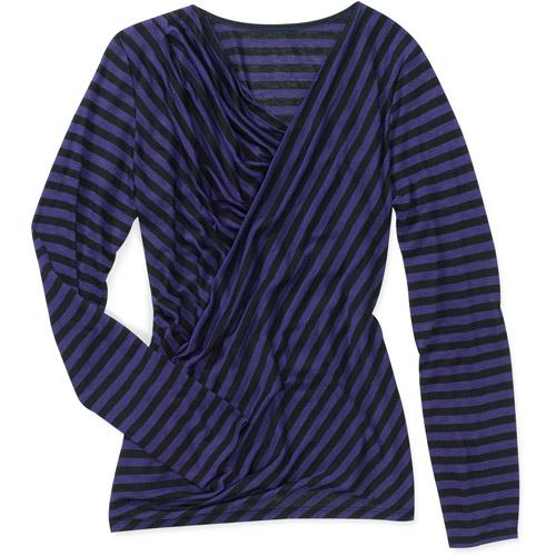 Miss Tina Women's Draped Front Knit Top
