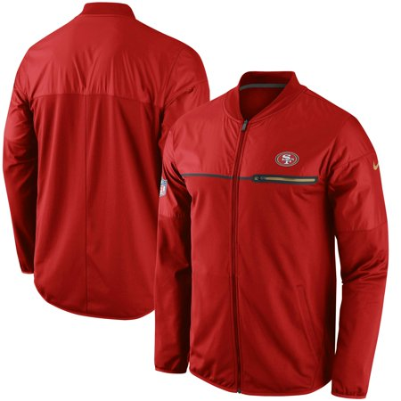 watch 351a8 ac203 San Francisco 49ers Nike Elite Hybrid Performance Jacket - Scarlet