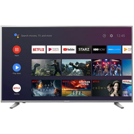 """Sharp 58"""" Class 4K Ultra HD (2160p) HDR Android Smart LED TV with Dolby Vision (LC-58Q620U)"""