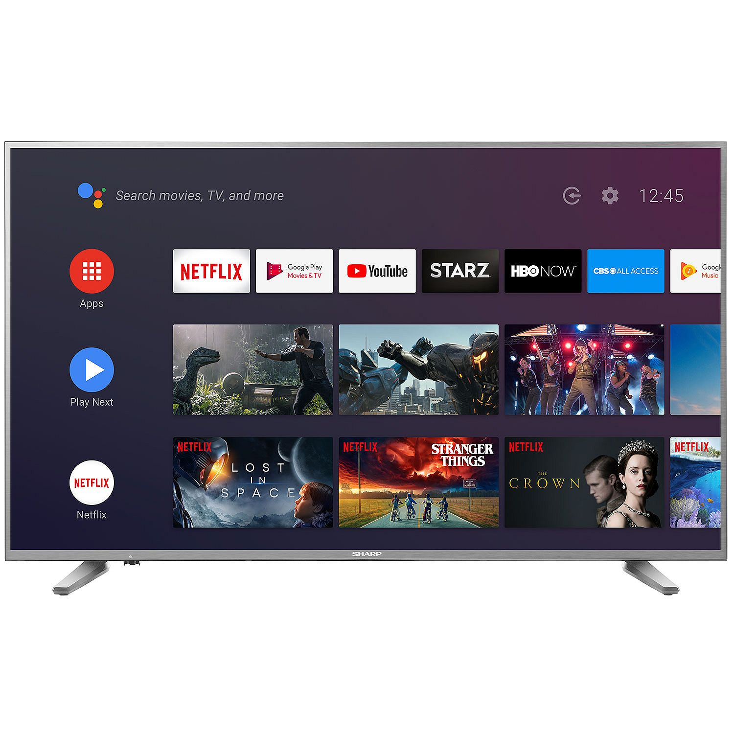 Sharp 58-In Class 4K Smart TV.