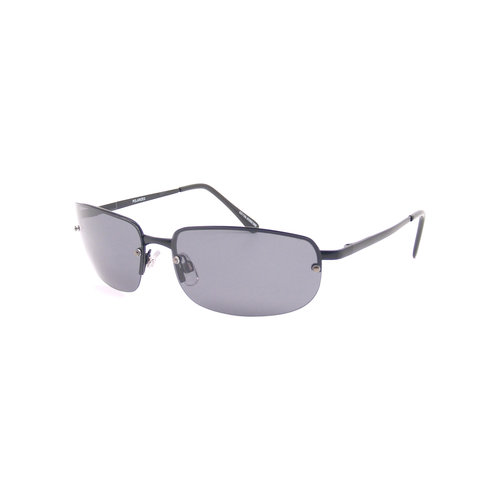 Foster Grant Polarized Rectangle Sunglasses, Black